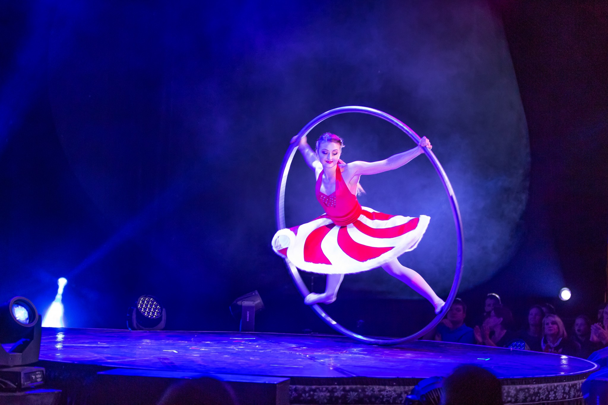 """A Magical Cirque Christmas,"" coming to the Stranahan Theater Nov. 21, will bring the magic of Christmas with dazzling performers and breathtaking cirque artists from around the world. (Photo by Lou Baldanza)"