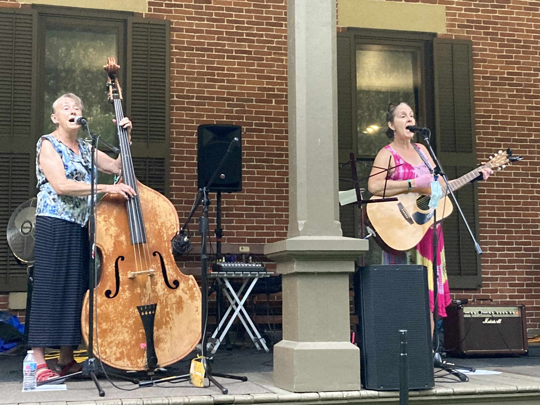 The Cottonwood Jam String Band performs at a past Verandah Concert at the Hayes Presidential Library & Museums. The band will play at the last Verandah Concert of the season on Wednesday, Sept. 15. (Submitted photo)