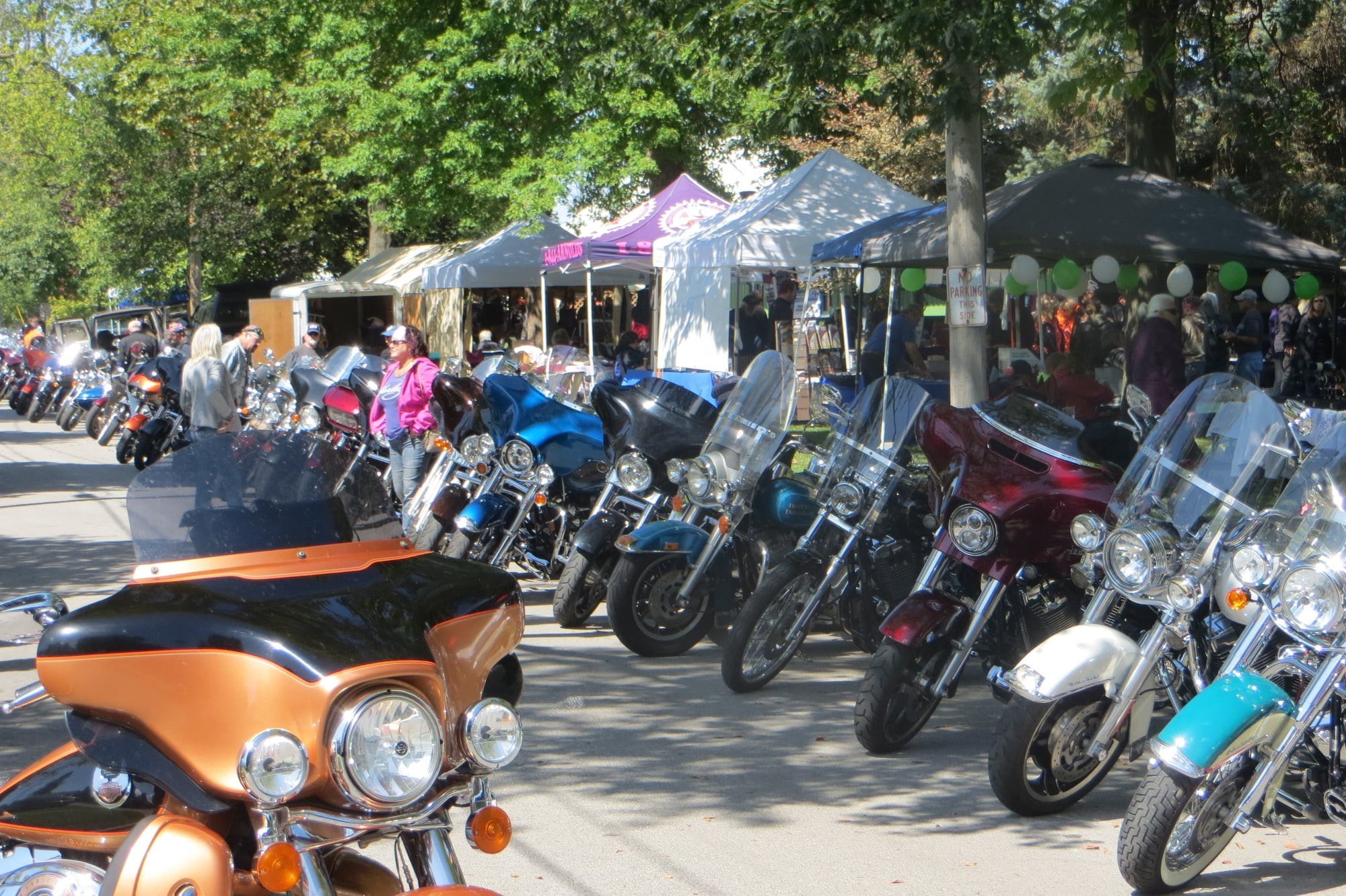 The 24th Annual Grub `n Suds Motorcycle Rally, set for Sept. 11 at Elmore's Depot Park, will feature a motorcycle run, bike judging, vendors, live music, food, beer and more. This year's event will also feature a tribute to 9/11. (Submitted photo)