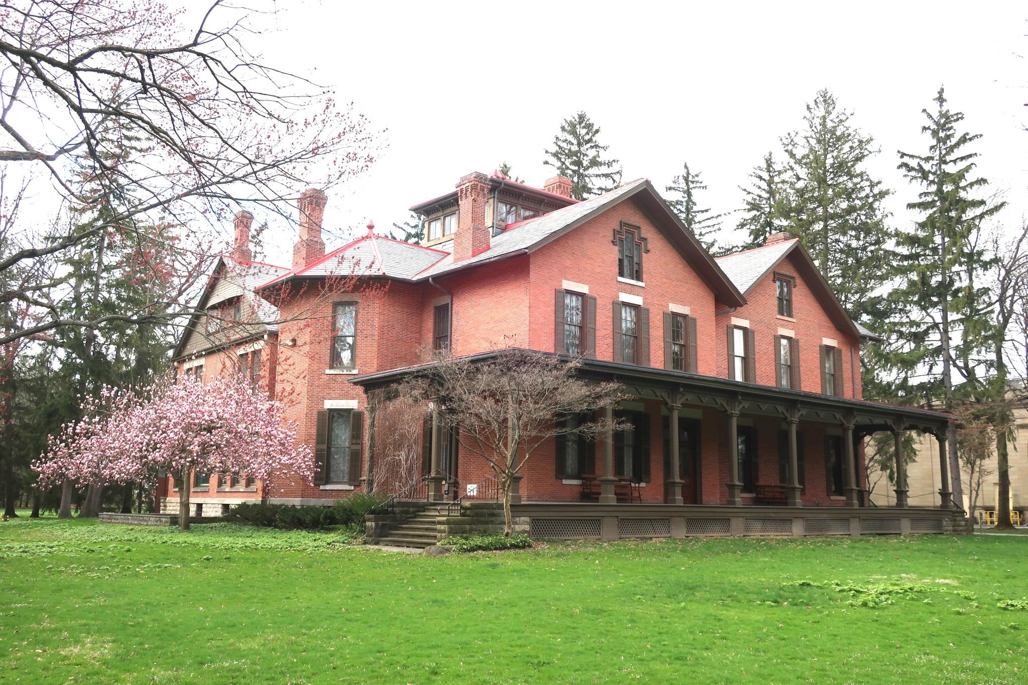 Spiegel Grove, the grounds of the Hayes Presidential Library & Museums, in Fremont, reopened to the public May 1. Hayes Presidential buildings remain closed due to the COVID-19 pandemic. (Submitted photo)