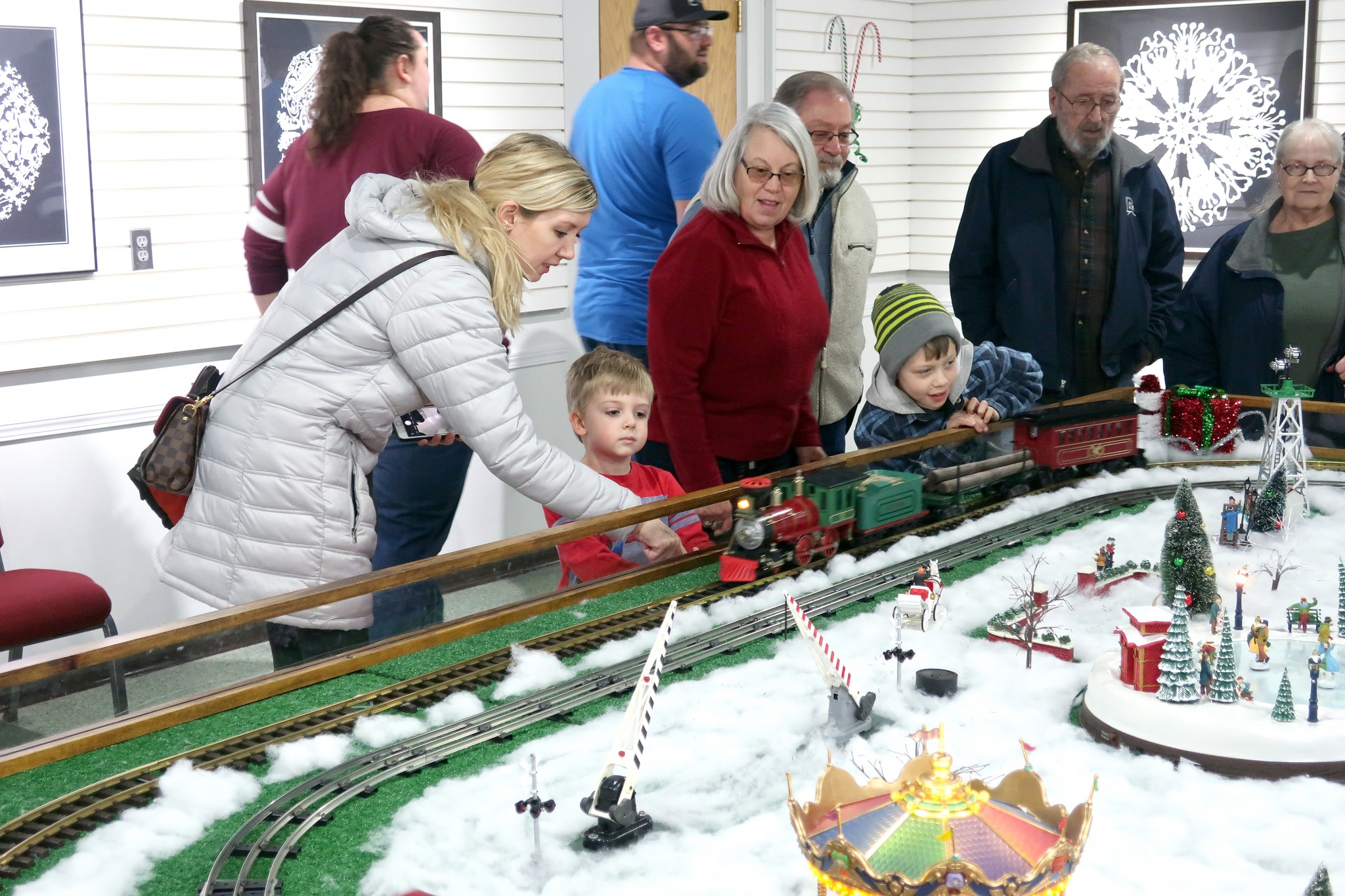 "The ""Hayes Train Special"" model train display has been delighting visitors of all ages since 1994 at the Hayes Presidential Library & Museums. (Submitted photo)"