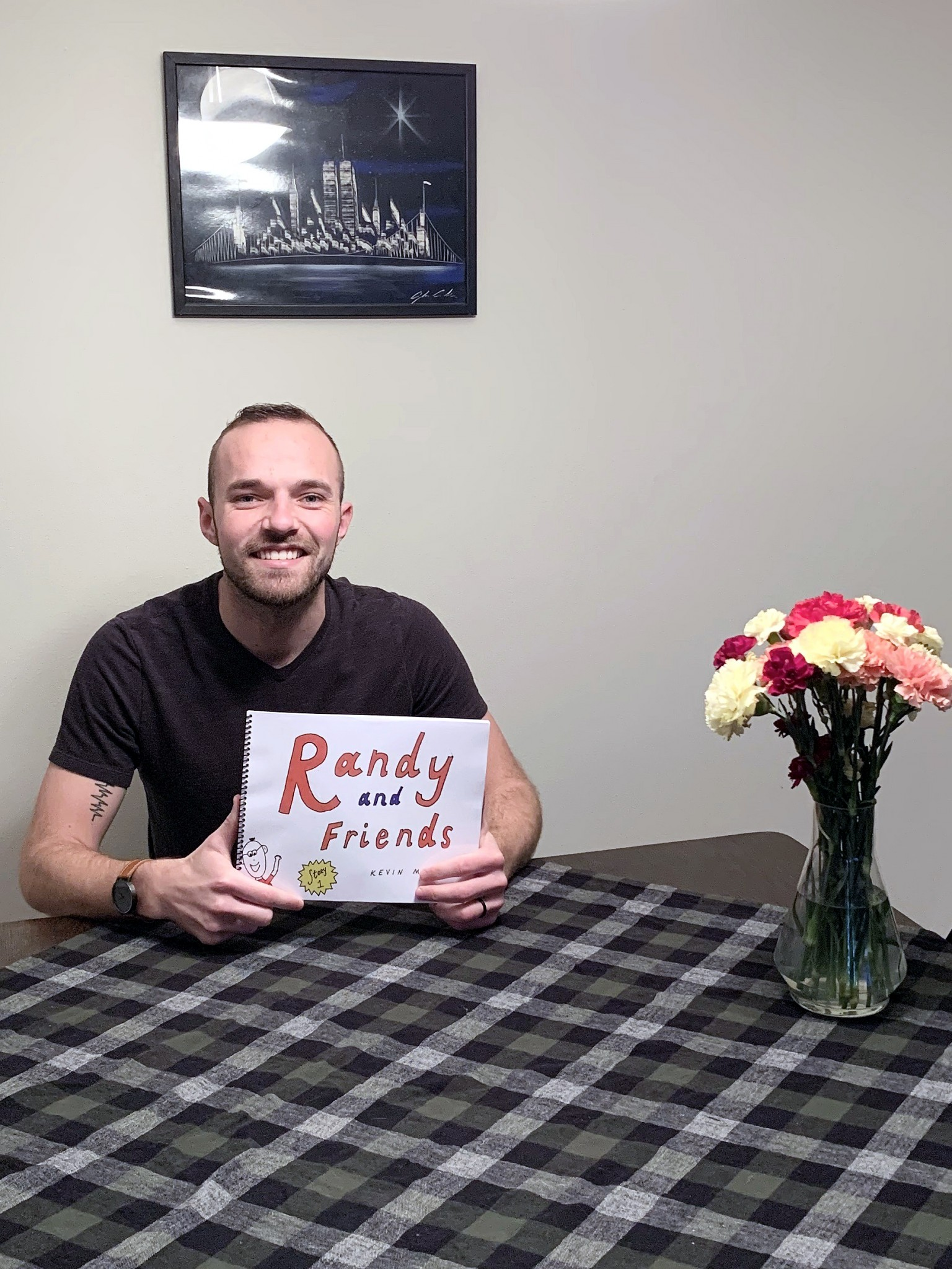 """Writer and mental health professional Kevin Moran, of Pemberville, has released his first children's book entitled, """"Randy and Friends."""" (Submitted photo)"""