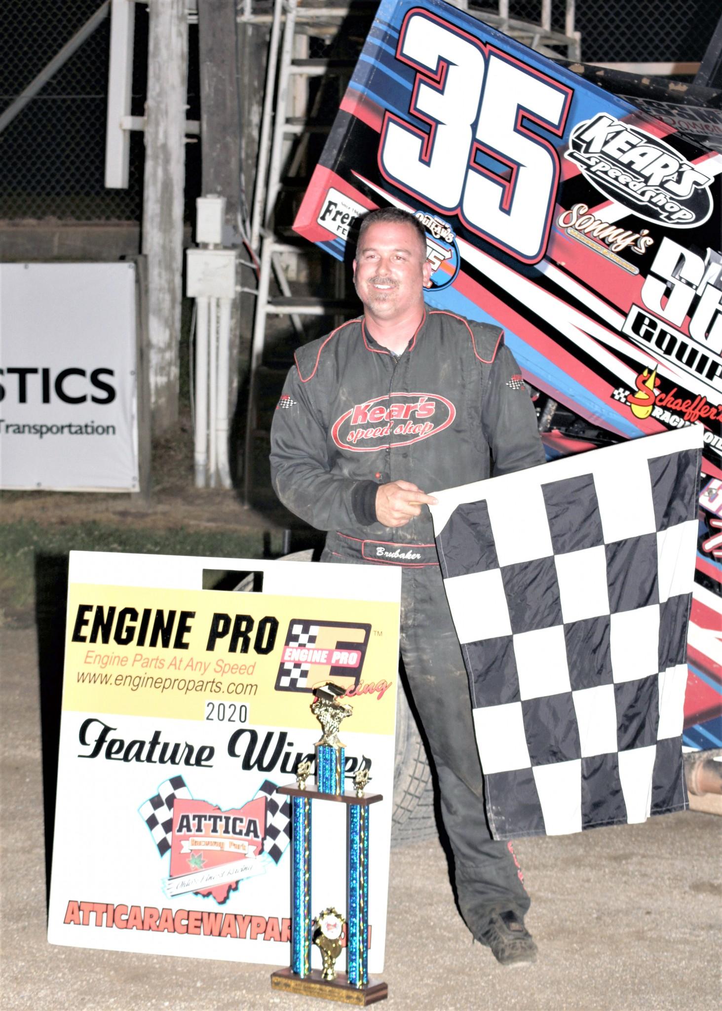 Top 10 finisher Stuart Brubaker, originally from the Helena-Gibsonburg area. (Photo by Rick Sherer)