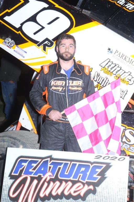 Steve Rando, a 305 feature top 10 finisher from Lindsey. (Photo by Rick Sherer)