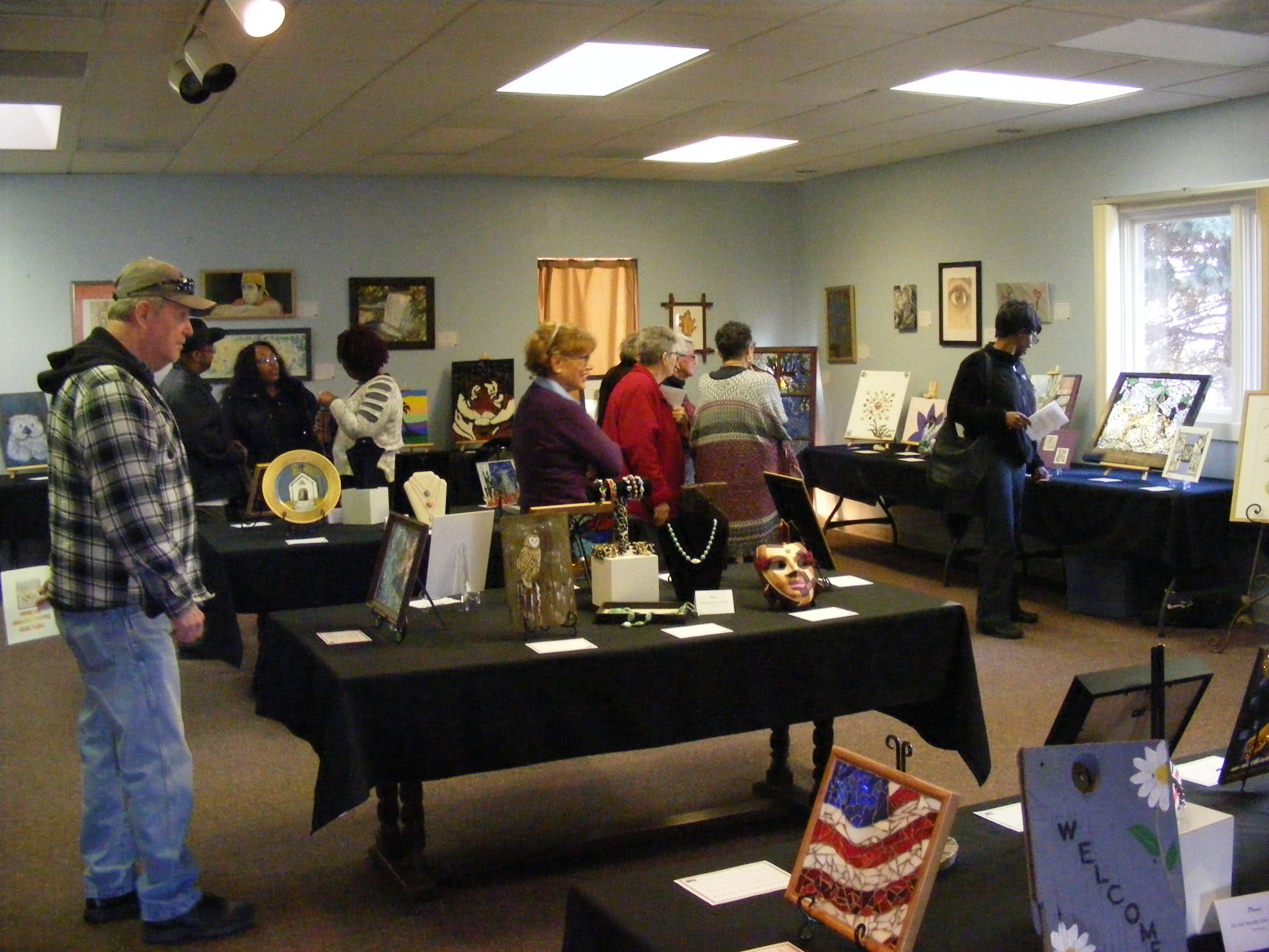The Victory Center, located at 5532 W. Central Ave., Suite B., Toledo, will present the Eighth Annual Cancer Survivor Art Show Jan. 31 and Feb. 1. The center hosts a free art therapy program for cancer patients and survivors (Submitted photo)