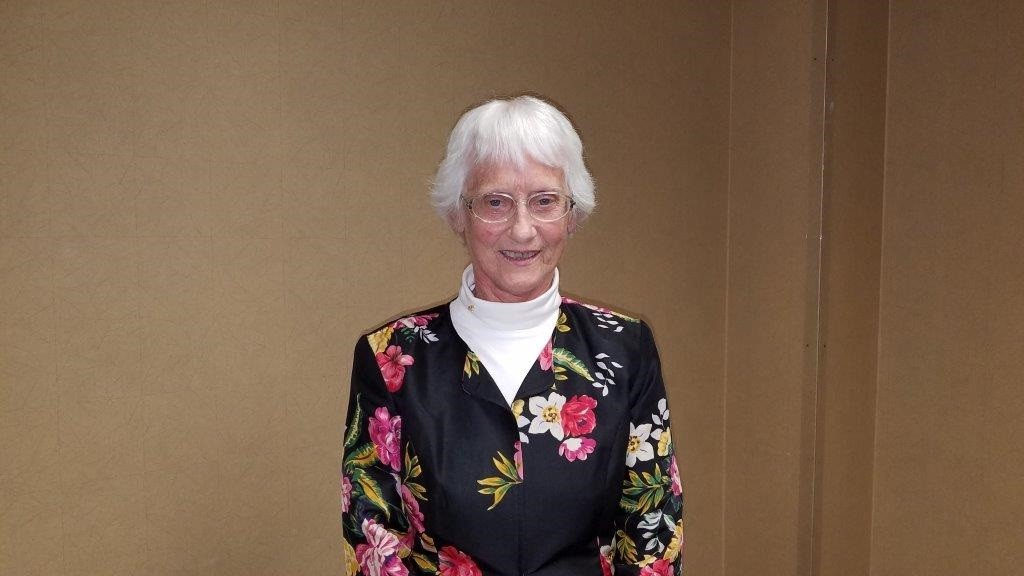 Magruder Hospital Auxiliary volunteer Vanda Wahlers was honored at the April 12 Volunteer Appreciation Luncheon. Wahlers has donated a total of 3,500 hours of service to the hospital. (Submitted photo)