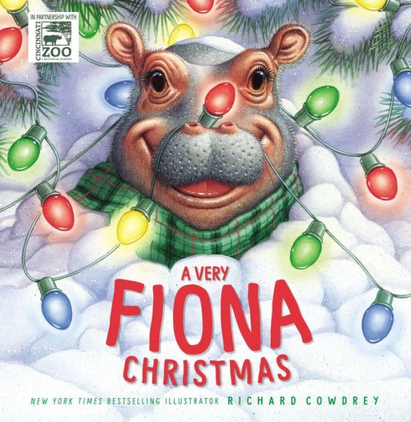 """Richard Cowdrey, illustrator of """"A Very Fiona Christmas"""" will visit the Toledo Zoo Sunday, Dec. 15 from noon-2 p.m. in The Great Hall of the ProMedica Museum of Natural History at the Toledo Zoo."""
