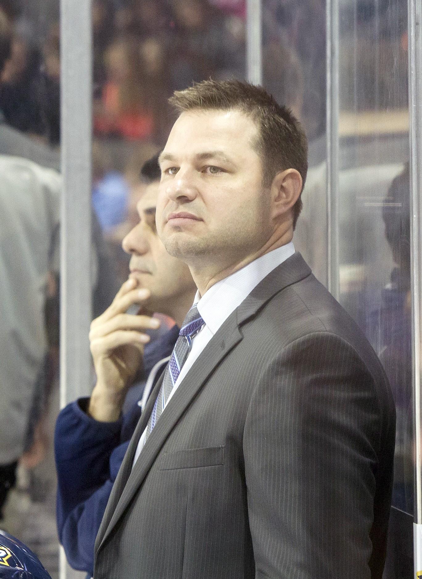 Toledo Walleye coach Dan Watson (Photo courtesy Toledo Walleye)